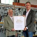 Goldener Meisterbrief für Hermann-Josef Borkes