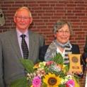 Ehrenplakette der Stadt Kalkar für Marlies Janßen