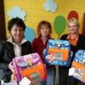 Kiwanis hilft i-Dötzchen Schulranzenspende an Kolping Kindergarten Kalkar